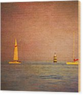 A Perfect Summer Evening Wood Print by Loriental Photography