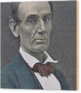 Abraham Lincoln Wood Print by American Photographer