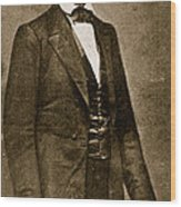 Abraham Lincoln Wood Print by Mathew Brady