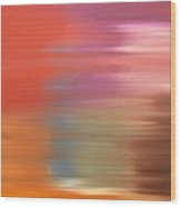 Abstract 261 Wood Print by Patrick J Murphy