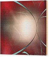 Abstract 550 Wood Print by John Krakora