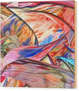 Abstract - Paper - Origami Wood Print by Mike Savad