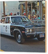 Adam 12 Wood Print by Tommy Anderson