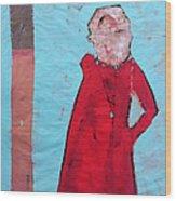 Aetas No 5 Wood Print by Mark M  Mellon