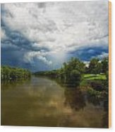 After The Storm Wood Print by Everet Regal