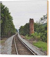 Alabama Tracks Wood Print by Verana Stark