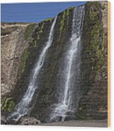 Alamere Falls Three Wood Print by Garry Gay