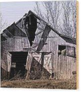 American Rural Wood Print by Tom Mc Nemar