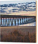 An Atlantic Daybreak Wood Print by JC Findley