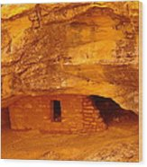 Anasazi Ruins  Wood Print by Jeff Swan