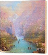 Anduin The Great River Wood Print by Joe  Gilronan