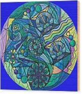 Arcturian Immunity Grid Wood Print by Teal Eye  Print Store