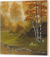 Autumn Splendor Wood Print by C Steele