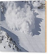 Avalanche IIi Wood Print by Bill Gallagher