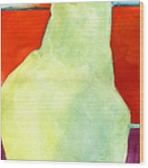 Avery Style Pear Art Wood Print by Blenda Studio