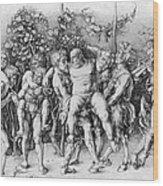 Bacchanal With Silenus - Albrecht Durer Wood Print by Daniel Hagerman