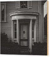 Back Home Bar Harbor Maine Wood Print by Edward Fielding