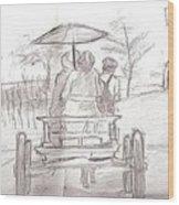 Back Home Wood Print by George Harrison