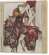 Bakst, Léon 1866-1924. La Péri. 1911 Wood Print by Everett