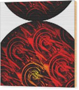 Balance Wood Print by Ann Powell