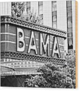 Bama Wood Print by Scott Pellegrin