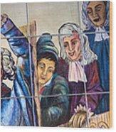 Bastille Metro No 2 Wood Print by A Morddel
