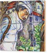 Bastille Metro No 3 Wood Print by A Morddel