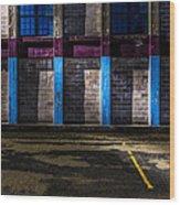 Bates Mill  Morning Light Wood Print by Bob Orsillo
