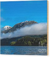 Bc Coastline Wood Print by Robert Bales