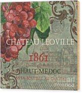 Beaujolais Nouveau 1 Wood Print by Debbie DeWitt