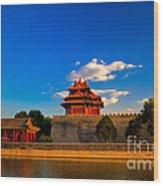 Beijing Forbidden City Wood Print by Fototrav Print