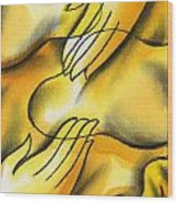 Belief Wood Print by Leon Zernitsky