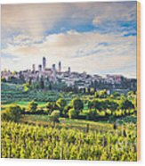 Bella Toscana Wood Print by JR Photography