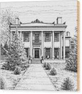 Belle Meade Plantation Wood Print by Janet King