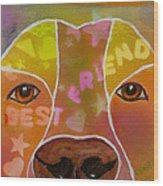 Best Friend Wood Print by Roger Wedegis