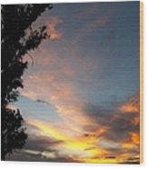 Between Night And Day Wood Print by Glenn McCarthy Art and Photography