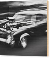 Big Block Chevelle Wood Print by Phil 'motography' Clark