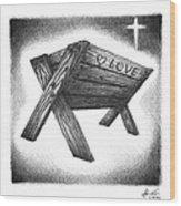 Birth Of The Messiah Wood Print by Adam Vereecke