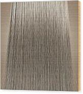 Blonde Hair Perfect Straight Wood Print by Allan Swart