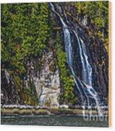 Bluish Wood Print by Robert Bales
