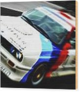 Bmw E30 M3 Racer Wood Print by Phil 'motography' Clark
