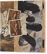 Bodhisattva 1952 Wood Print by Carol Leigh