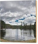 Bon Echo Lagoon Panorama Wood Print by Cale Best