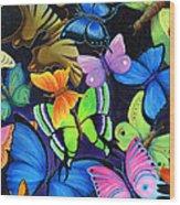 Born Again Wood Print by Nancy Cupp