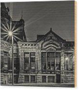Brewhouse 1880 Wood Print by CJ Schmit