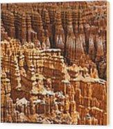 Bryce Hoodoos Wood Print by Adam Pender