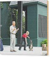 Busch Gardens - Animal Show - 121215 Wood Print by DC Photographer