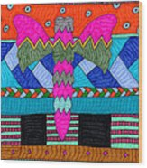Butterfly 4 Wood Print by Therese May
