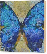 Butterfly Art - D11bb Wood Print by Variance Collections