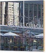 Cactus Club Cafe II Wood Print by Chris Dutton